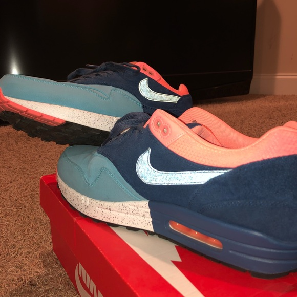 Atomic Pink Nike Air Max 2018 Nike Shoes | Air Max 1 Gamma Blueatomic Pink | Poshmark